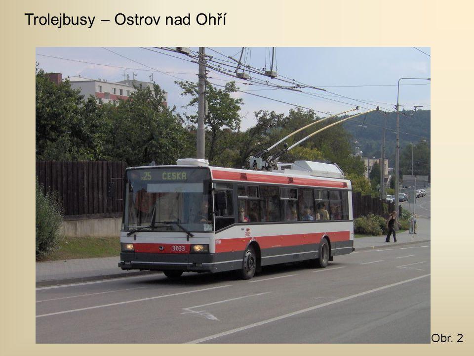 Trolejbusy – Ostrov nad Ohří