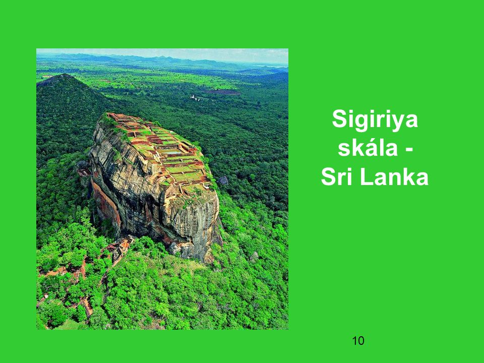 Sigiriya skála - Sri Lanka