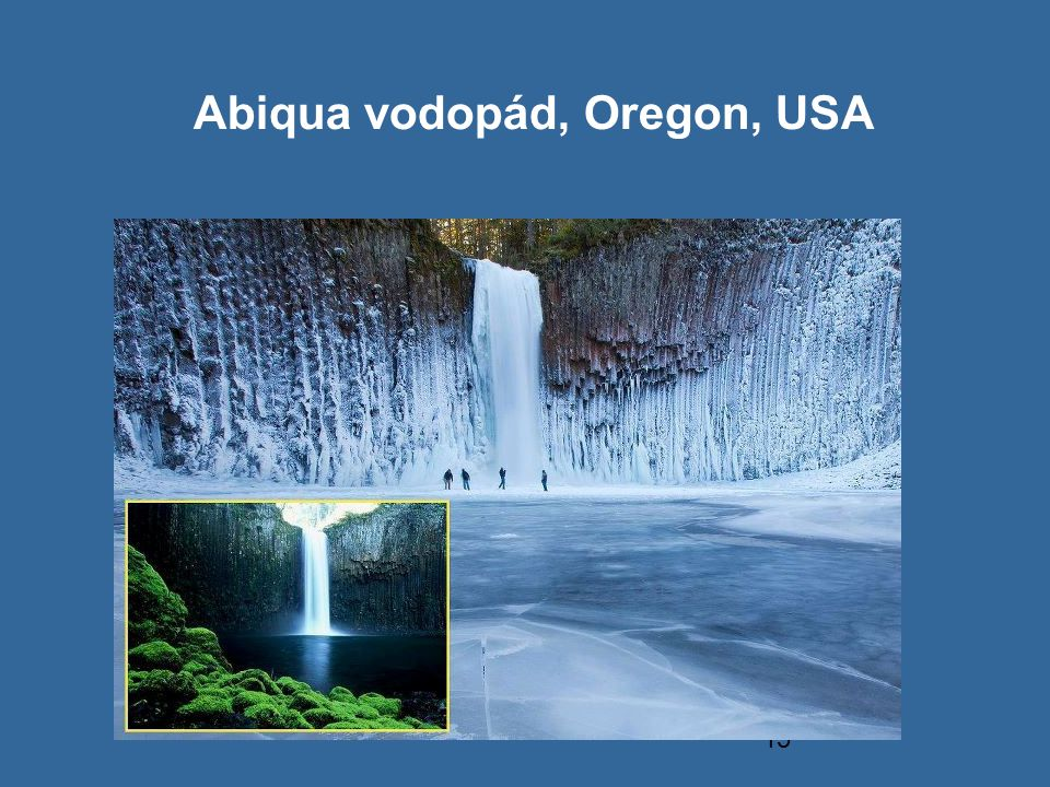 Abiqua vodopád, Oregon, USA