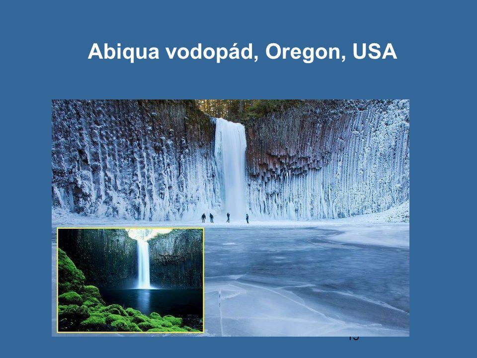 Abiqua vodopád, Oregon, USA