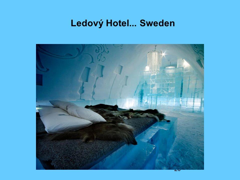 Ledový Hotel... Sweden