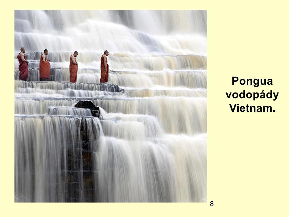 Pongua vodopády Vietnam.