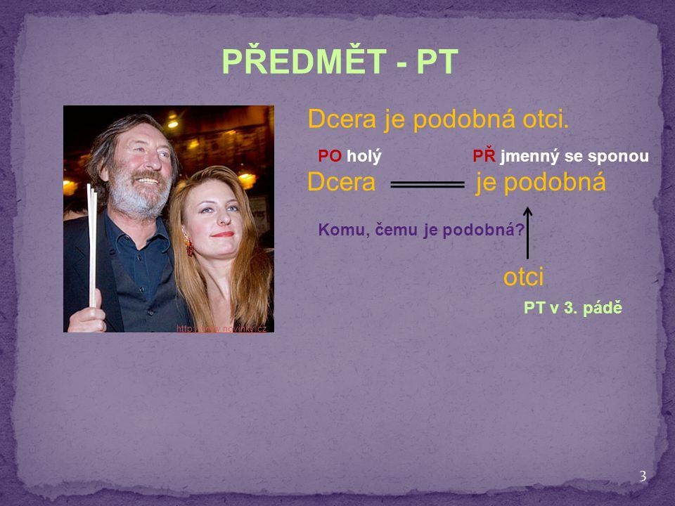 PŘEDMĚT - PT Dcera je podobná otci. Dcera je podobná otci PO holý