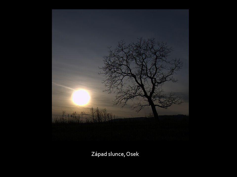 Západ slunce, Osek