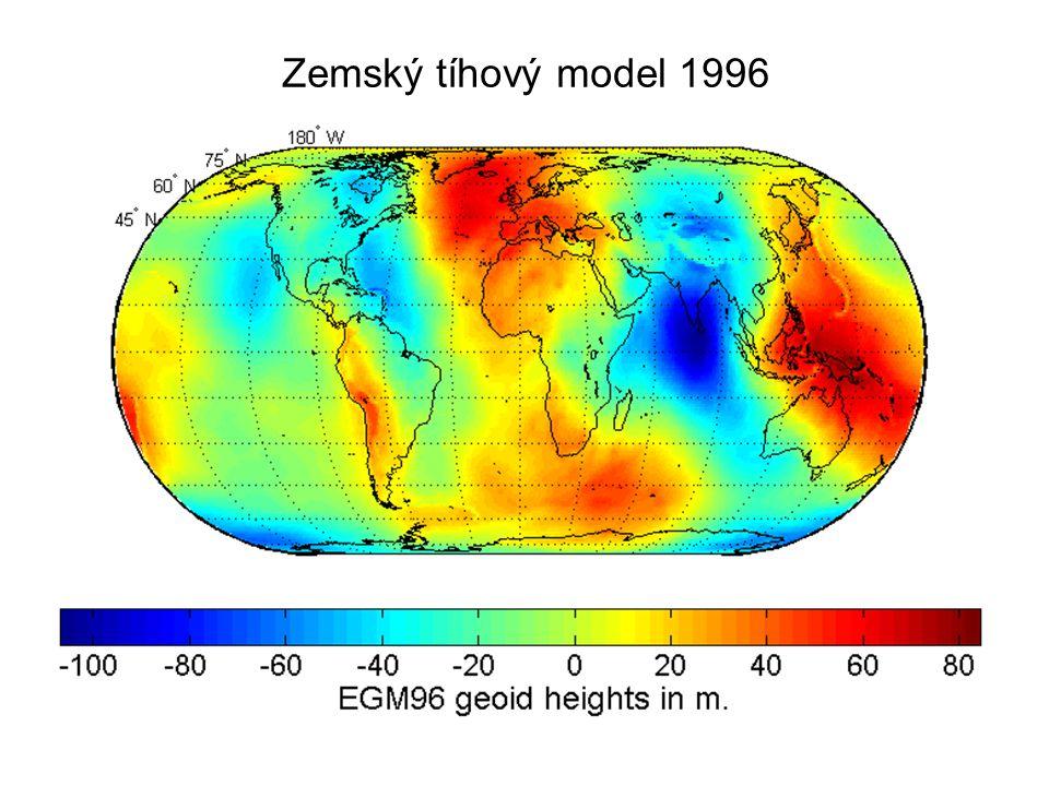 Zemský tíhový model 1996