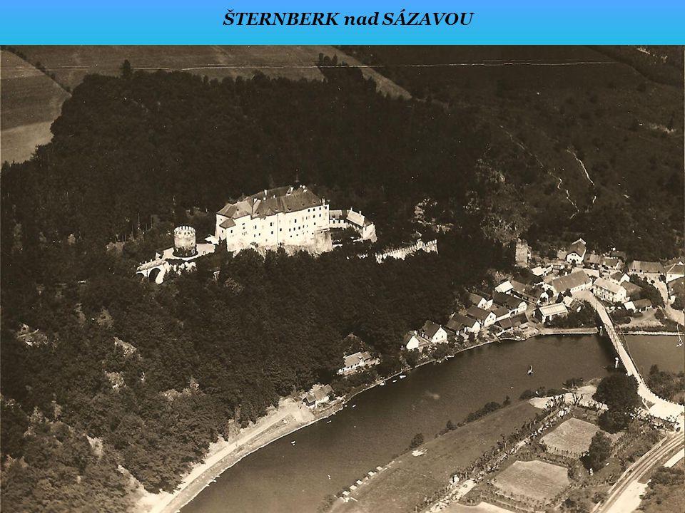 ŠTERNBERK nad SÁZAVOU