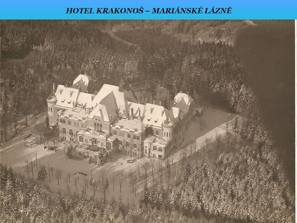 HOTEL KRAKONOŠ – MARIÁNSKÉ LÁZNĚ
