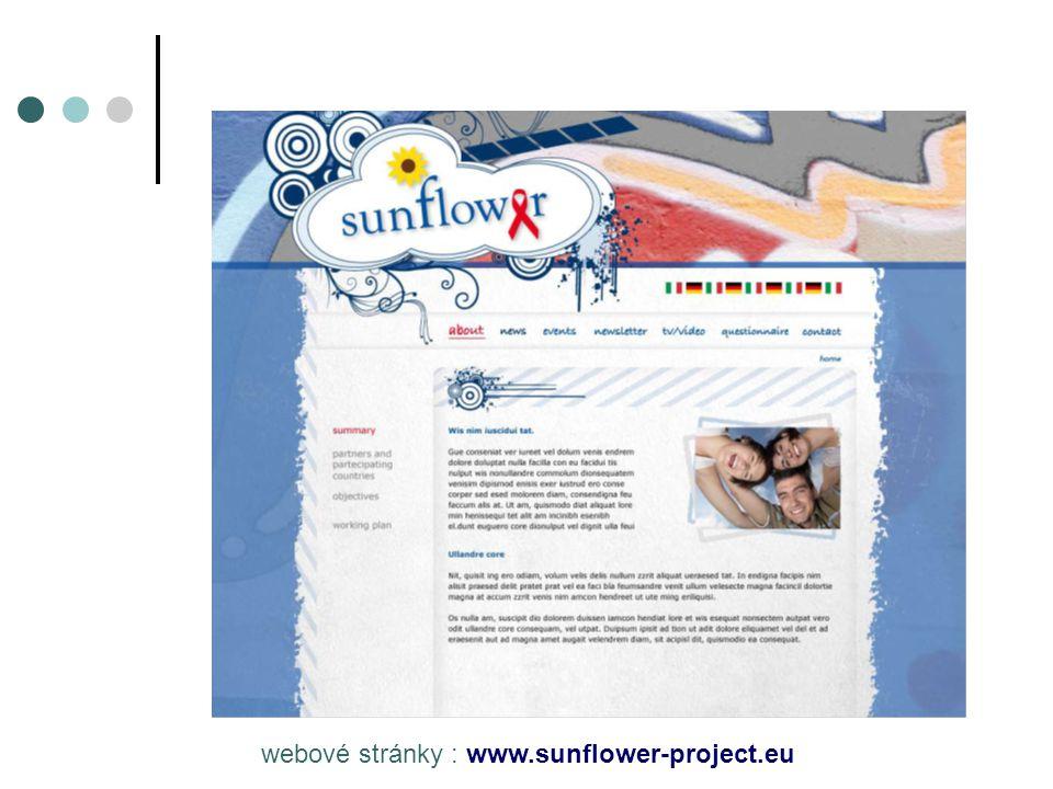 webové stránky : www.sunflower-project.eu