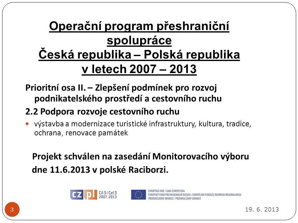 Operační program přeshraniční spolupráce Česká republika – Polská republika v letech 2007 – 2013