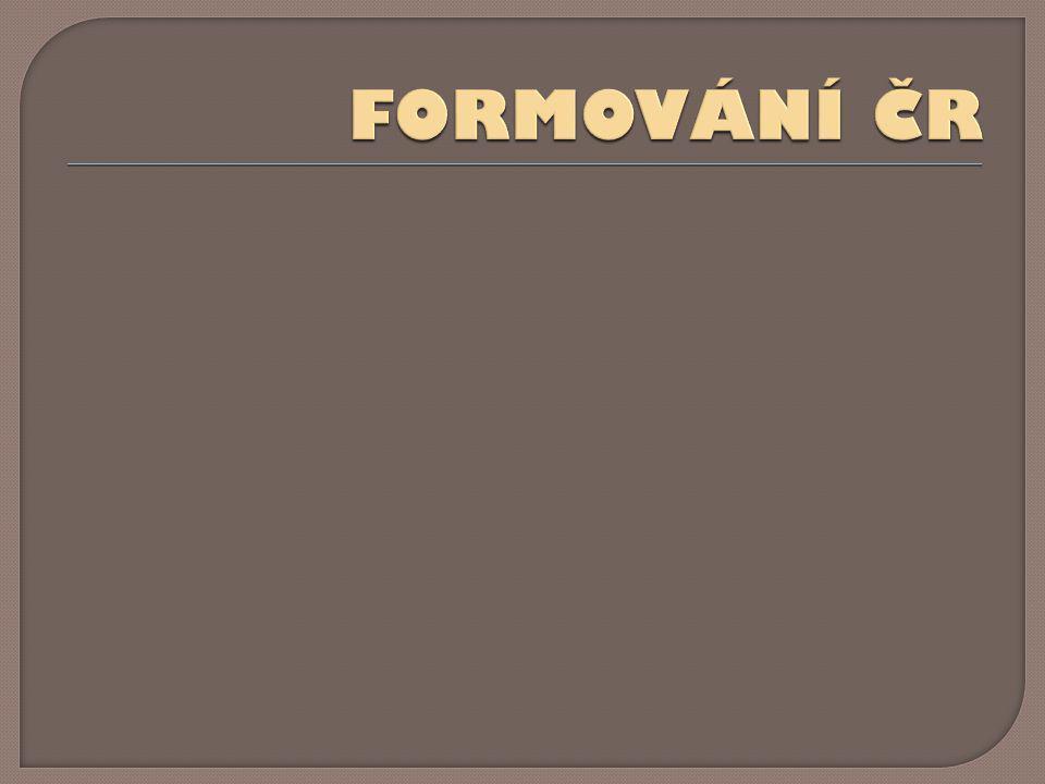 FORMOVÁNÍ ČR