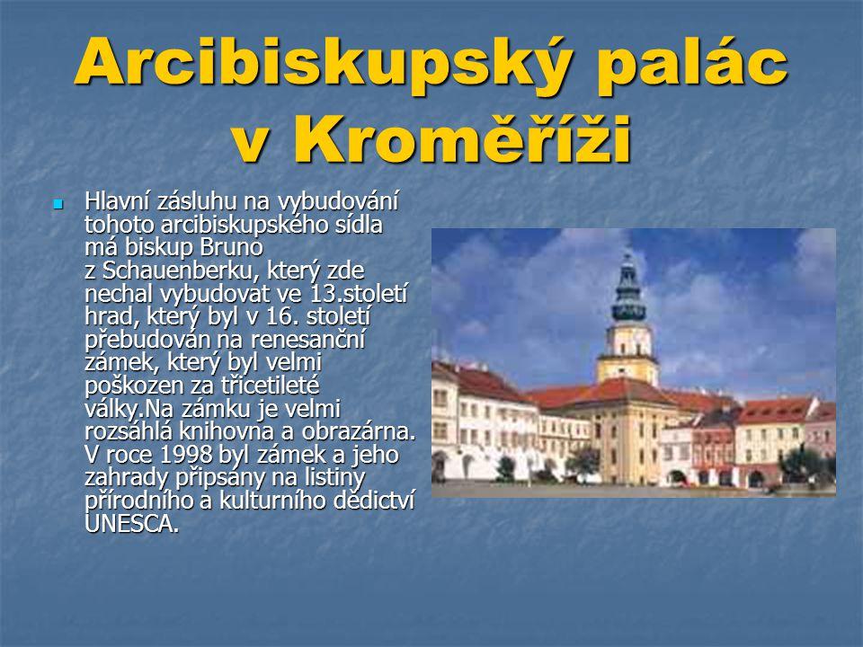 Arcibiskupský palác v Kroměříži