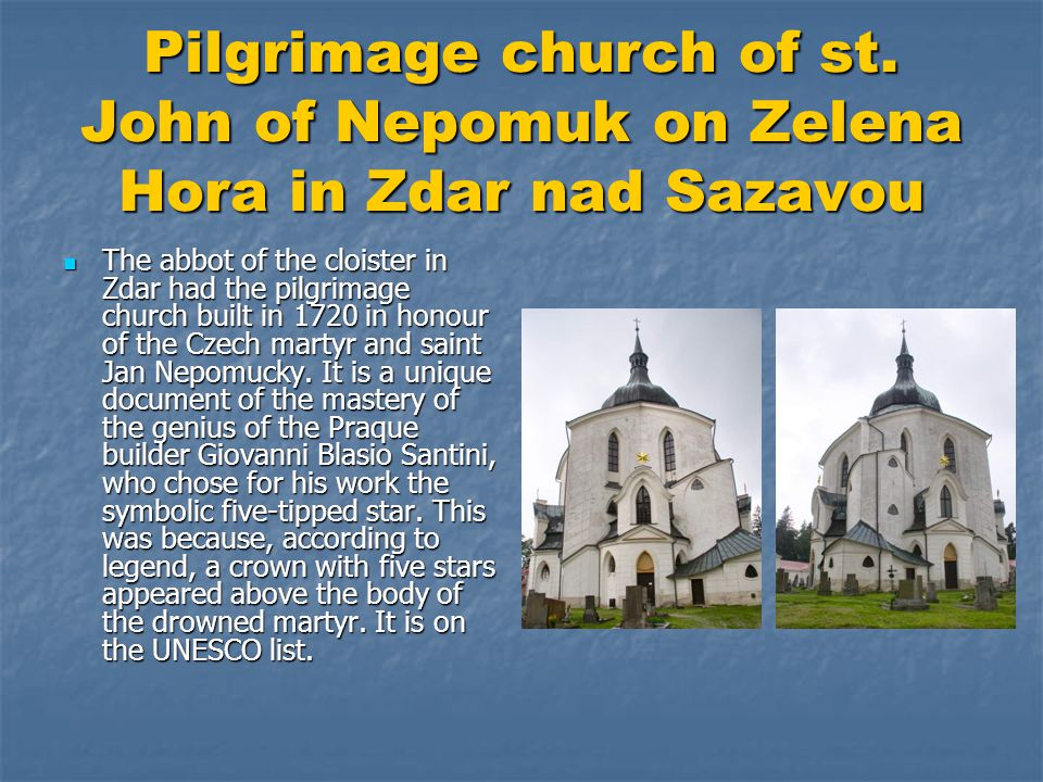 Pilgrimage church of st