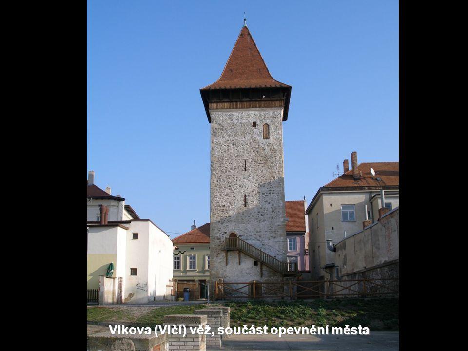Vlkova (Vlčí) věž, součást opevnění města