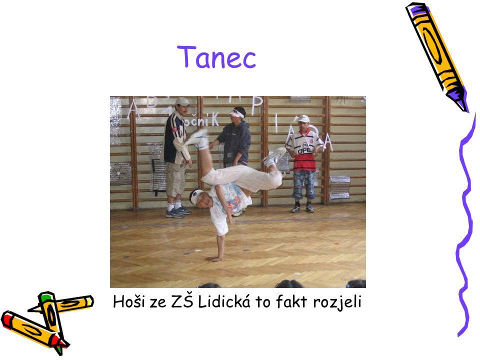 Tanec Hoši ze ZŠ Lidická to fakt rozjeli