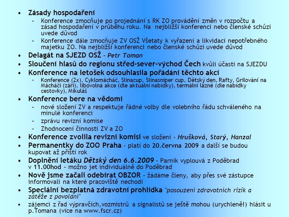 Delagát na SJEZD OSŽ - Petr Toman