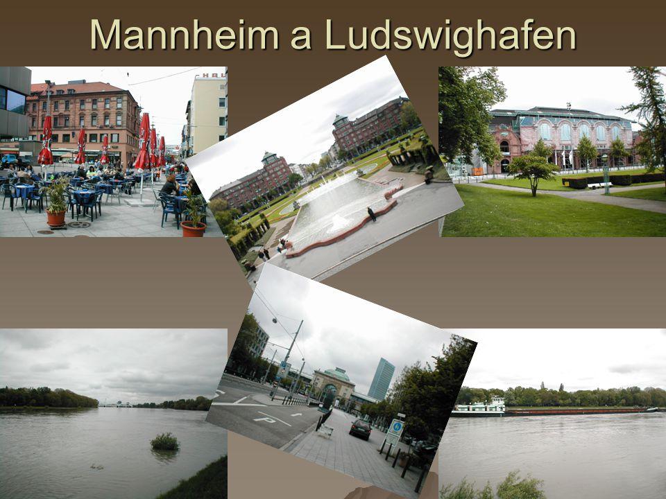 Mannheim a Ludswighafen