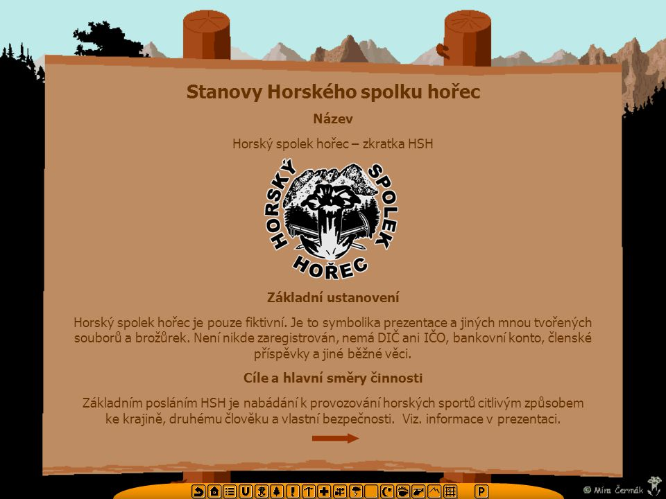 Stanovy Horského spolku hořec Cíle a hlavní směry činnosti