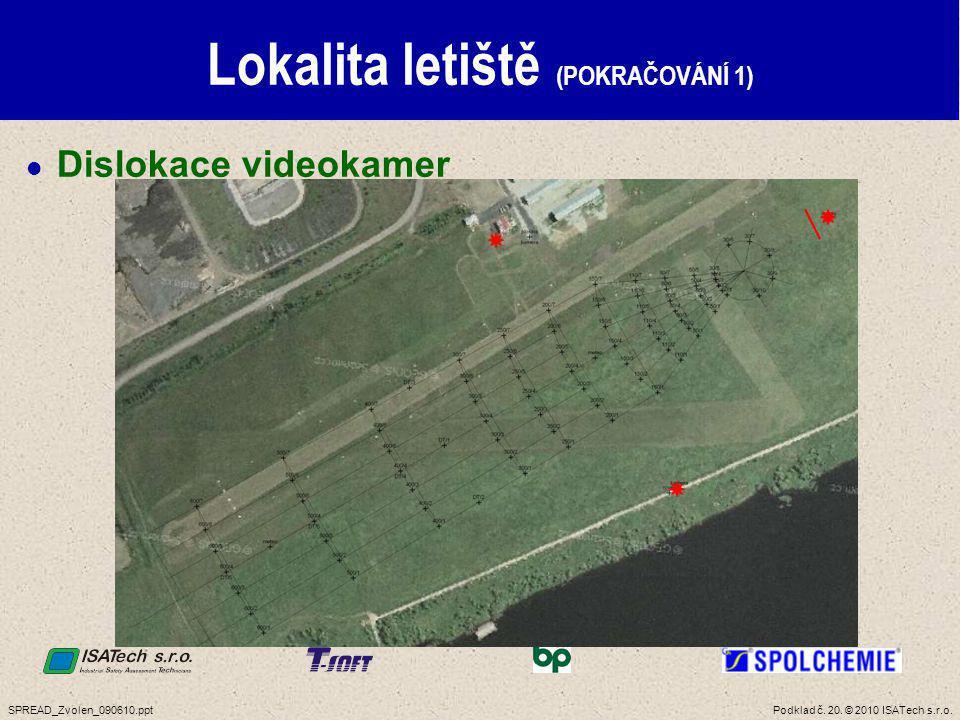 Lokalita letiště (POKRAČOVÁNÍ 2)