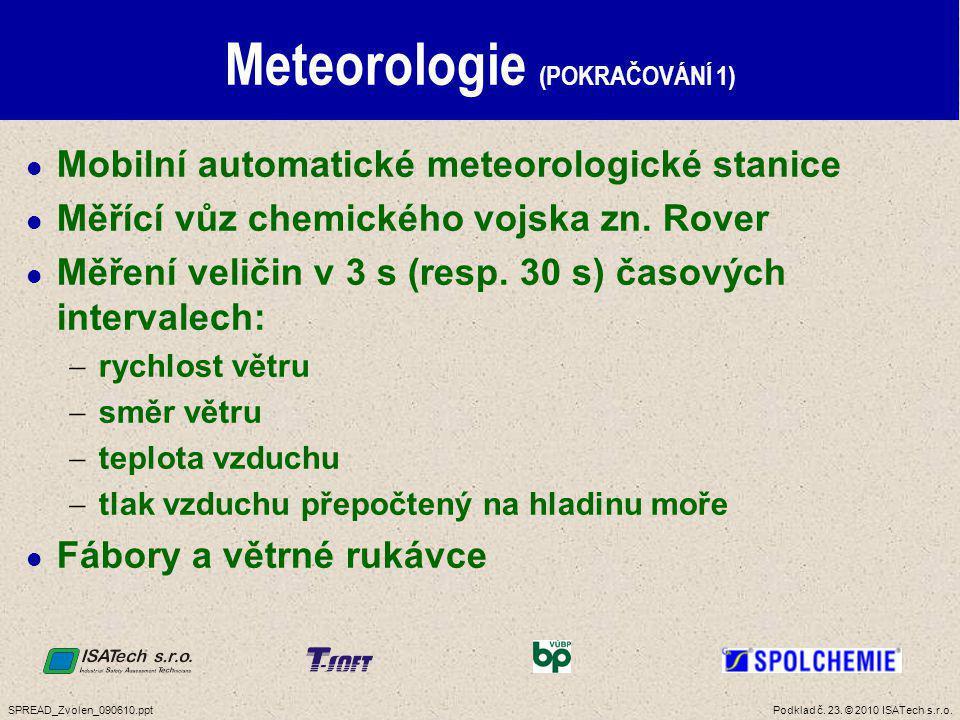 Meteorologie (POKRAČOVÁNÍ 2)