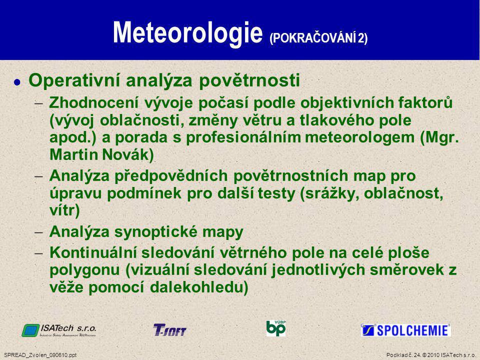 Meteorologie (POKRAČOVÁNÍ 3)