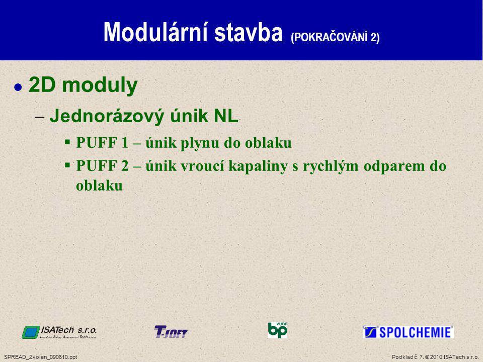 Modulární stavba (POKRAČOVÁNÍ 3)