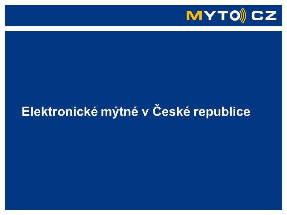 Elektronické mýtné v České republice