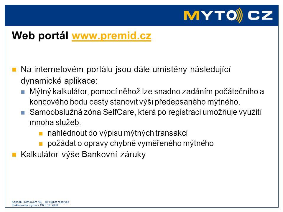 Web portál www.premid.cz