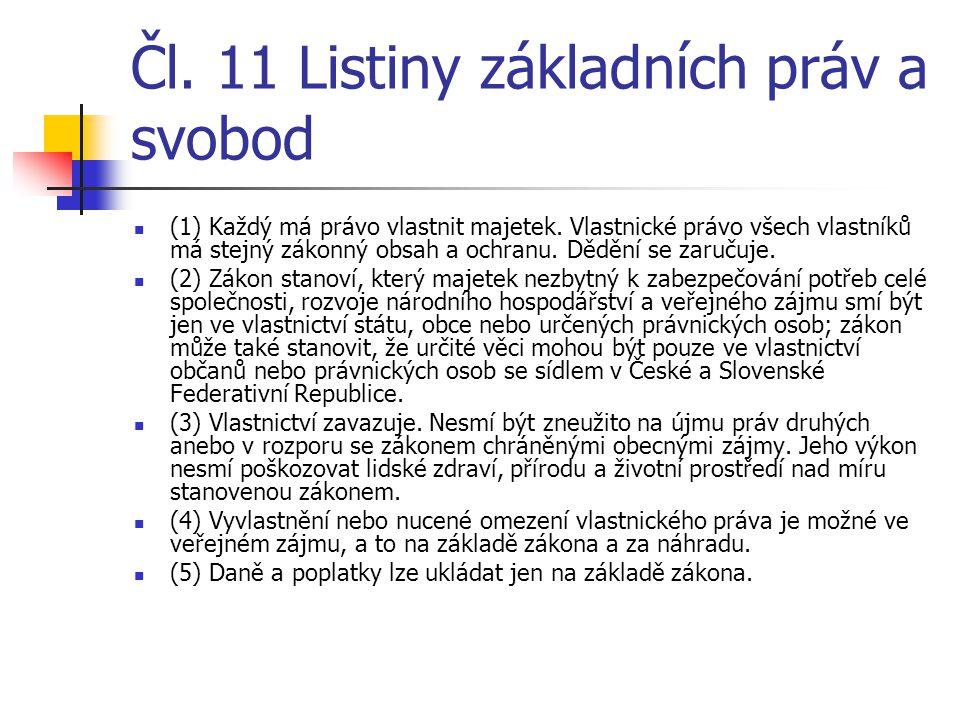 Čl. 11 Listiny základních práv a svobod