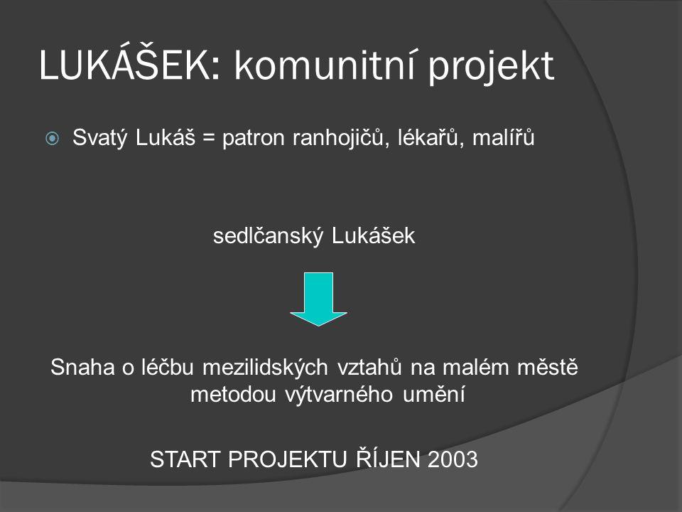 LUKÁŠEK: komunitní projekt
