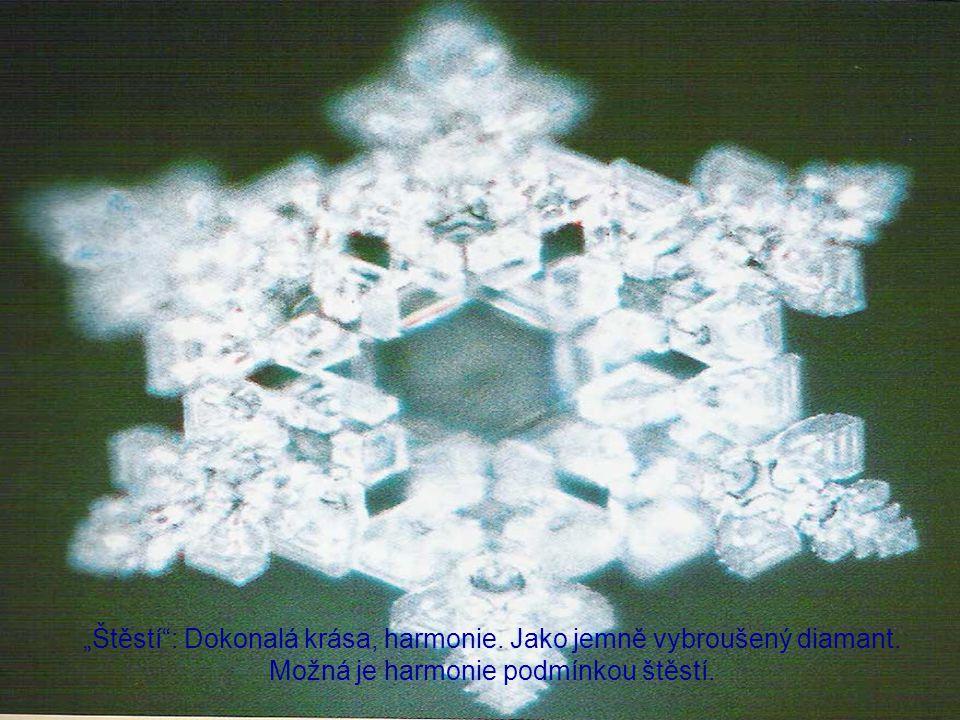 """""""Štěstí : Dokonalá krása, harmonie. Jako jemně vybroušený diamant"""