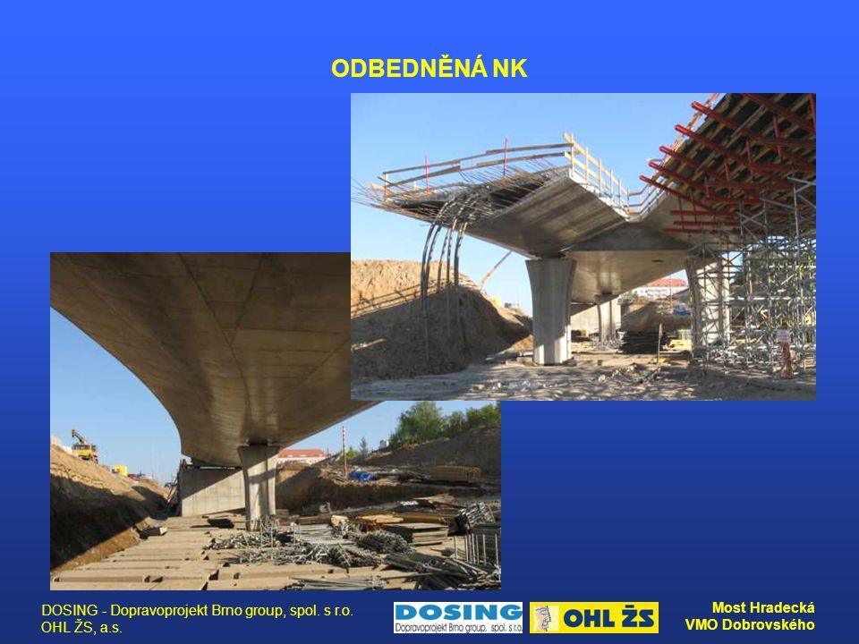 ODBEDNĚNÁ NK DOSING - Dopravoprojekt Brno group, spol. s r.o. OHL ŽS, a.s.