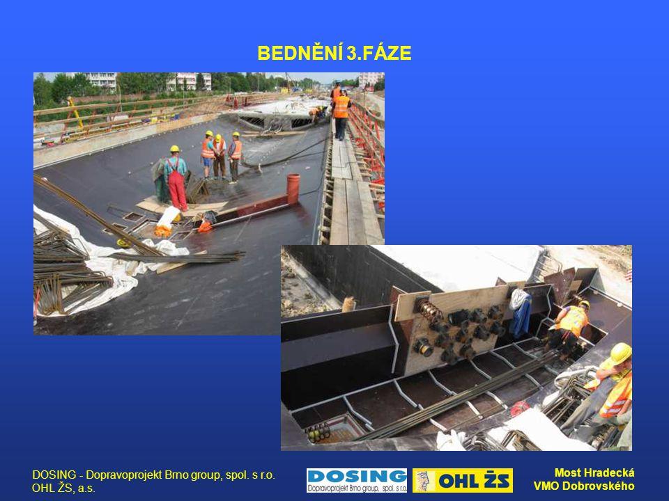 BEDNĚNÍ 3.FÁZE DOSING - Dopravoprojekt Brno group, spol. s r.o. OHL ŽS, a.s.