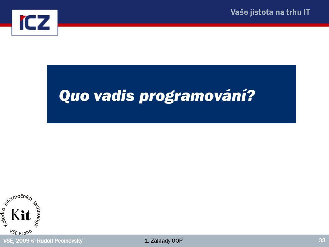 Quo vadis programování