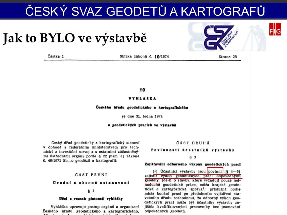 Potenciál OS-IG Jak to BYLO ve výstavbě ČESK