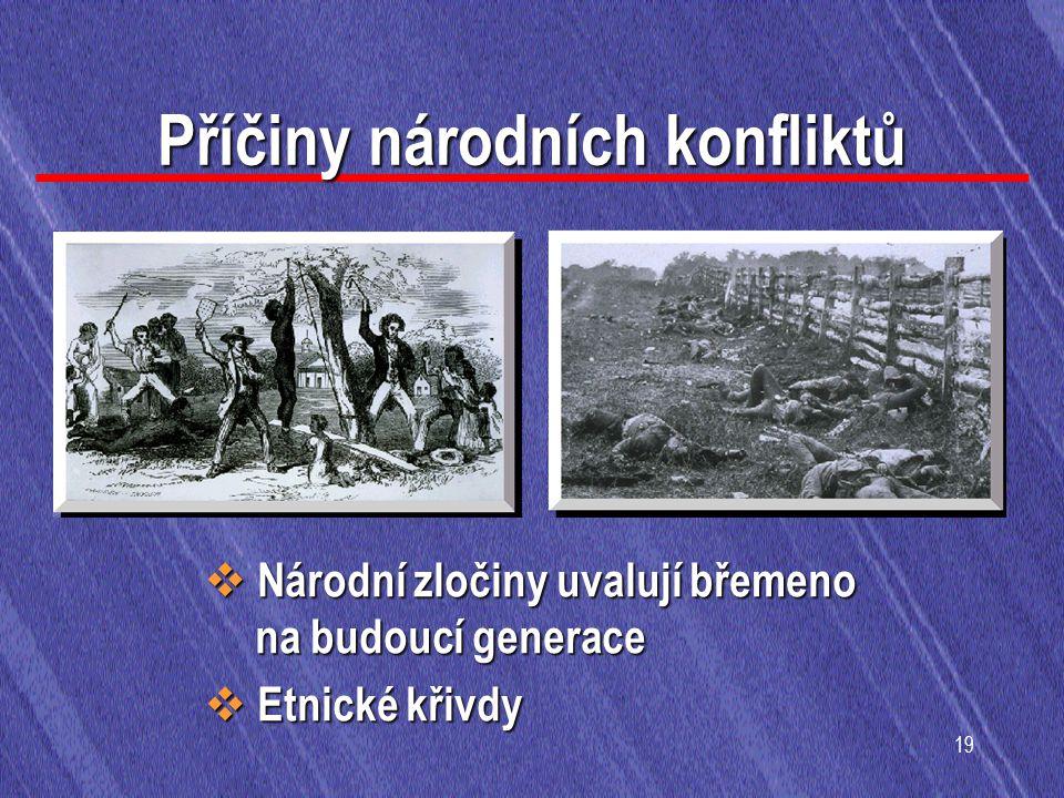 Příčiny národních konfliktů