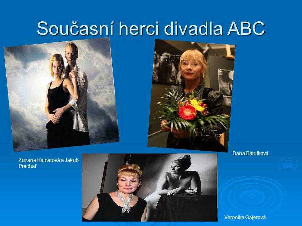 Současní herci divadla ABC