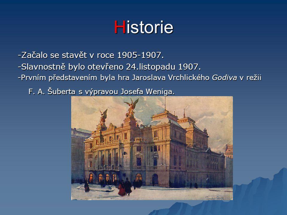 Historie -Začalo se stavět v roce 1905-1907.
