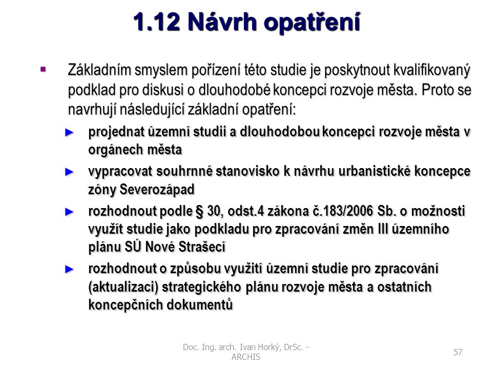 Doc. Ing. arch. Ivan Horký, DrSc. - ARCHIS