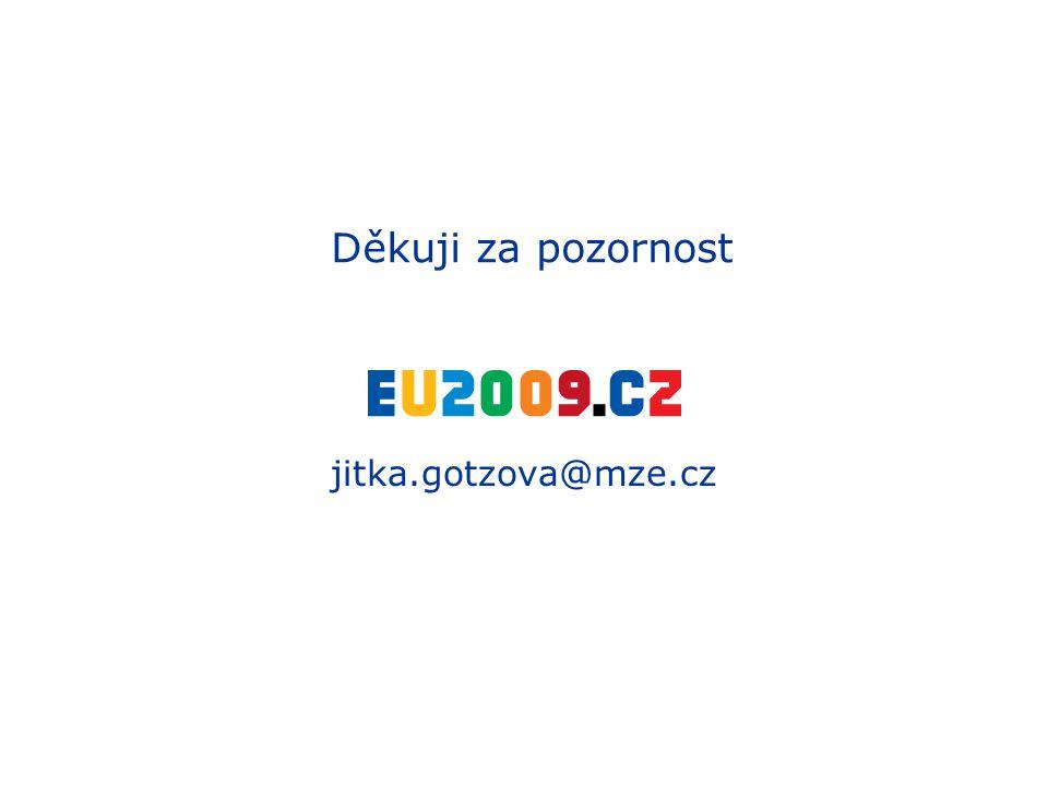 Děkuji za pozornost jitka.gotzova@mze.cz