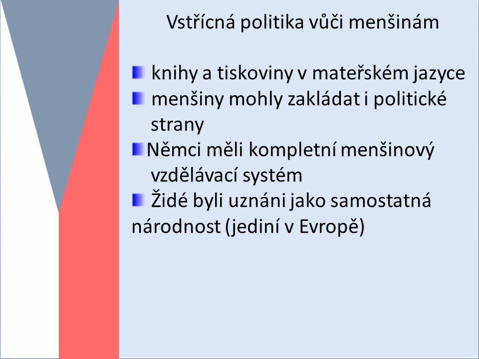 Vstřícná politika vůči menšinám