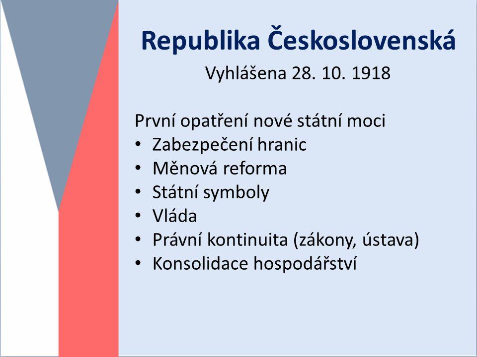 Republika Československá