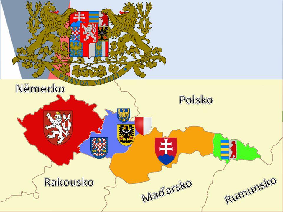 Německo Polsko Rakousko Maďarsko Rumunsko