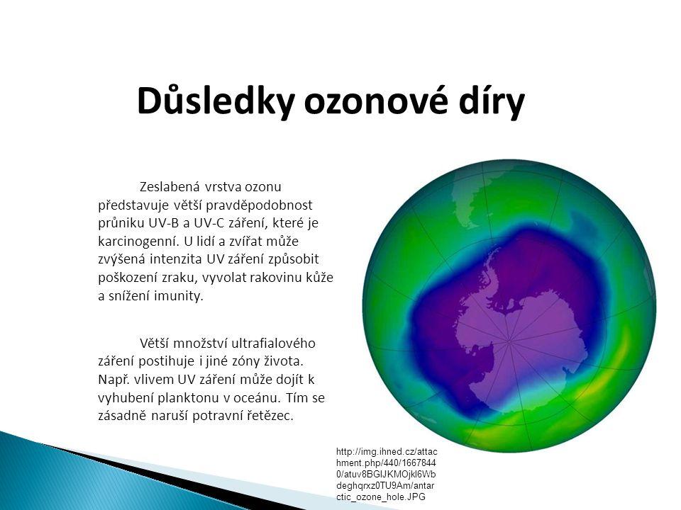 Důsledky ozonové díry