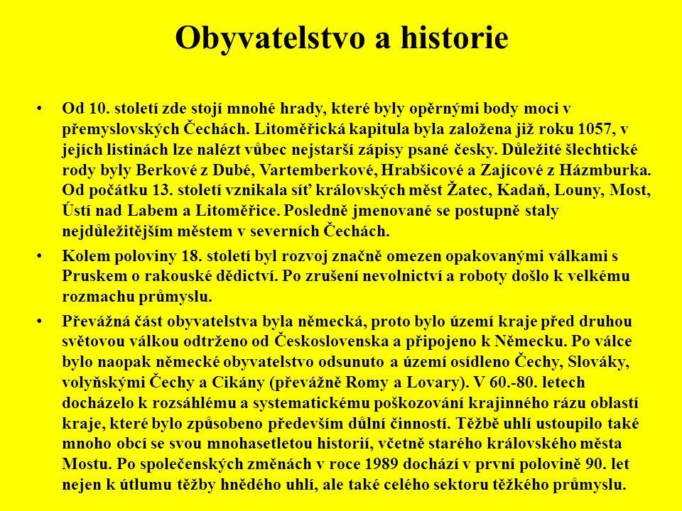 Obyvatelstvo a historie