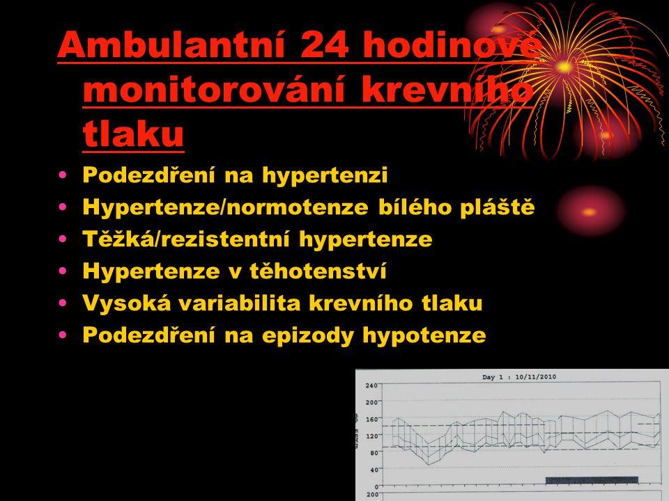 Ambulantní 24 hodinové monitorování krevního tlaku