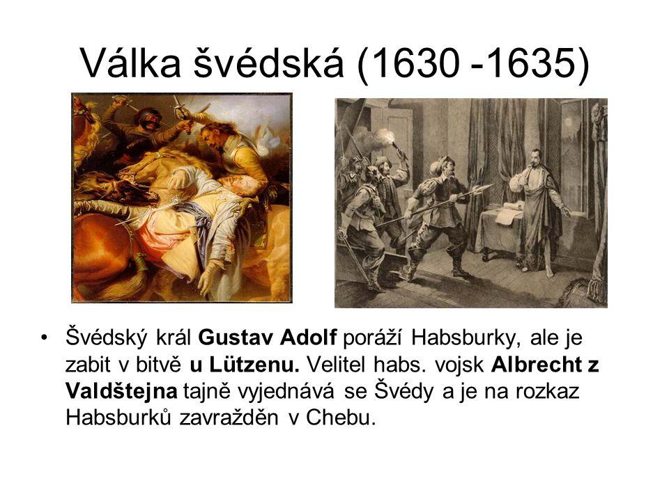 Válka švédská (1630 -1635)