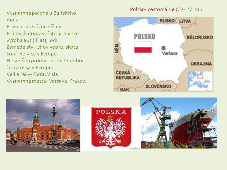 Polsko- cestománie ČT/- 27 min.