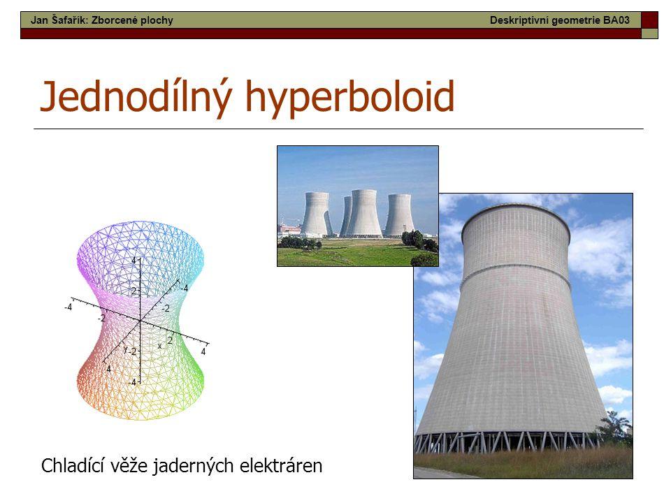 Jednodílný hyperboloid