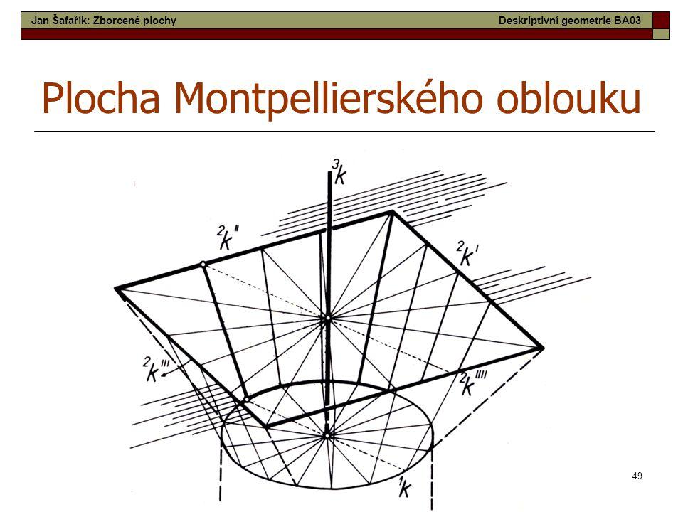 Plocha Montpellierského oblouku