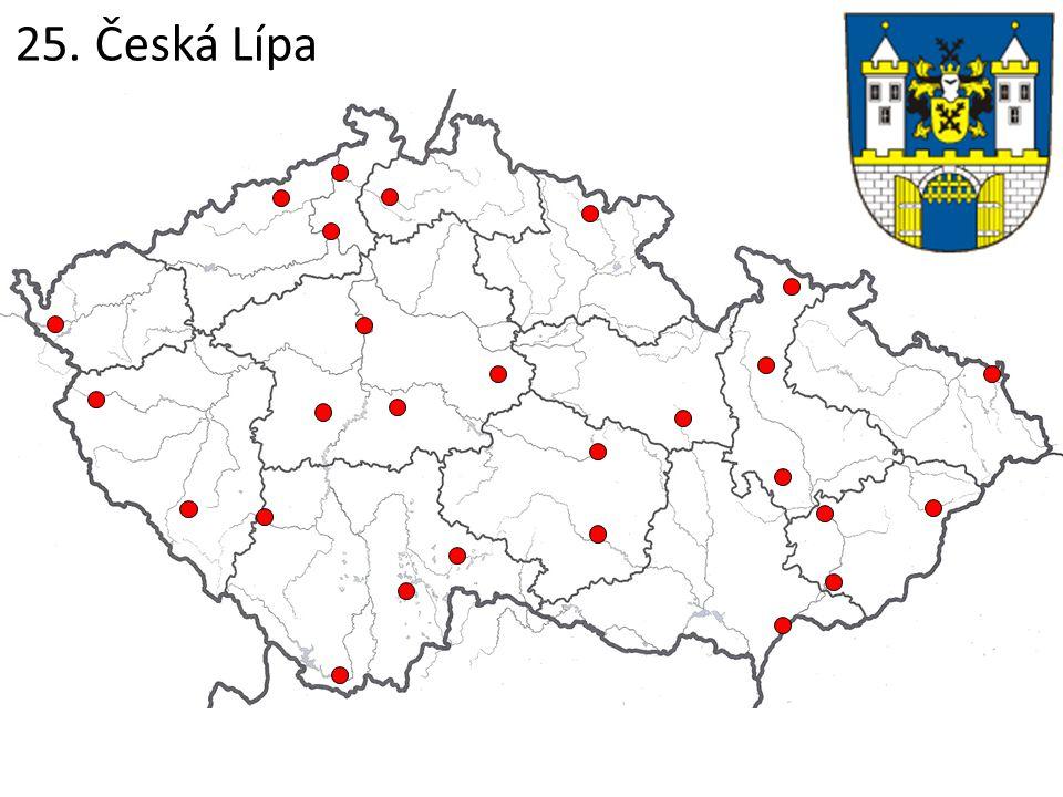 25. Česká Lípa